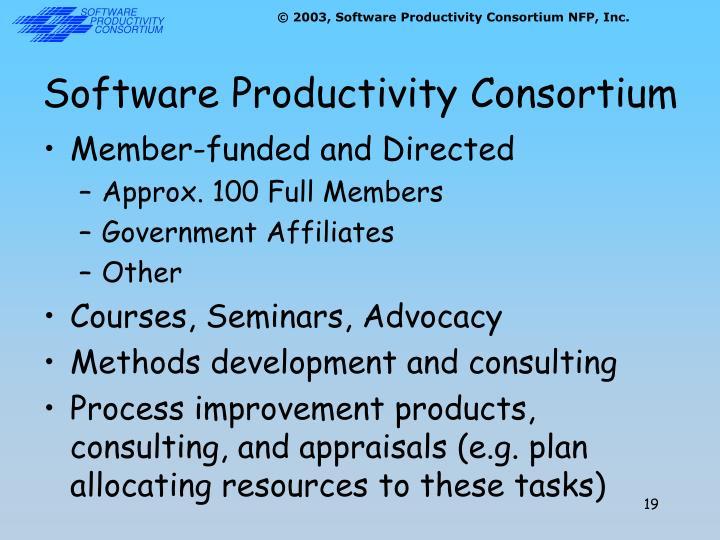 Software Productivity Consortium