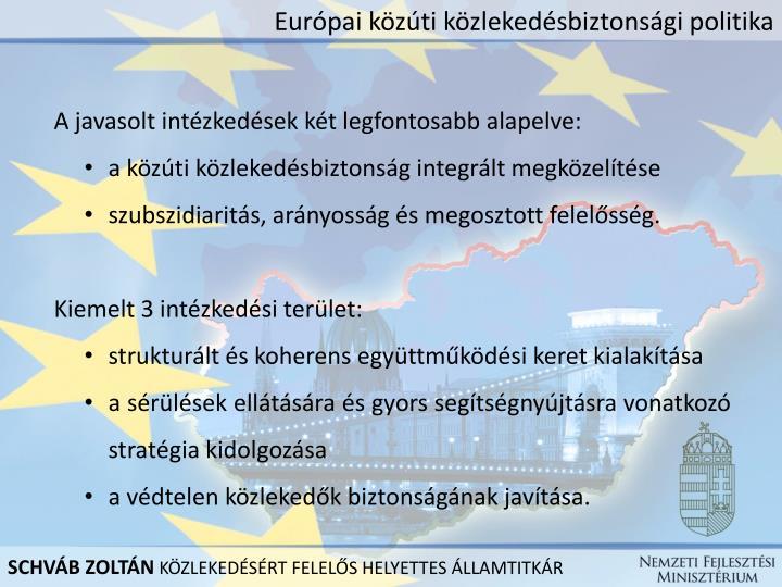 Európai közúti közlekedésbiztonsági politika