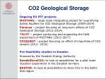 co2 geological storage
