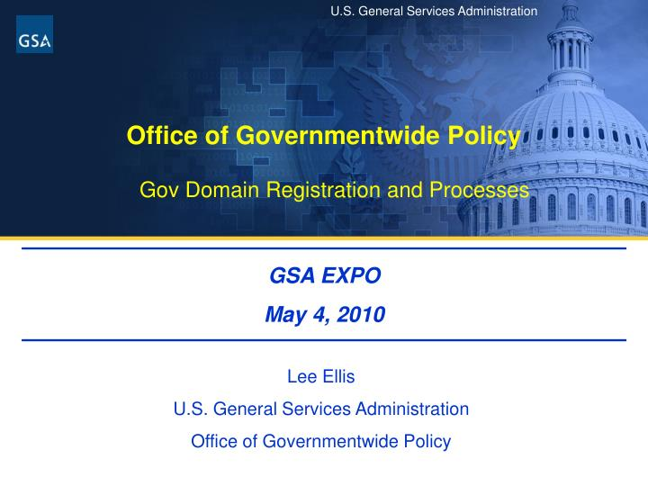 office of governmentwide policy n.