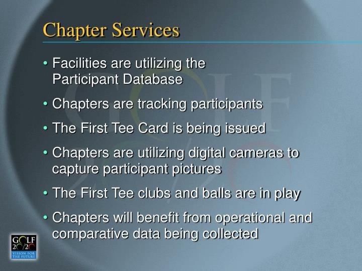 Chapter Services
