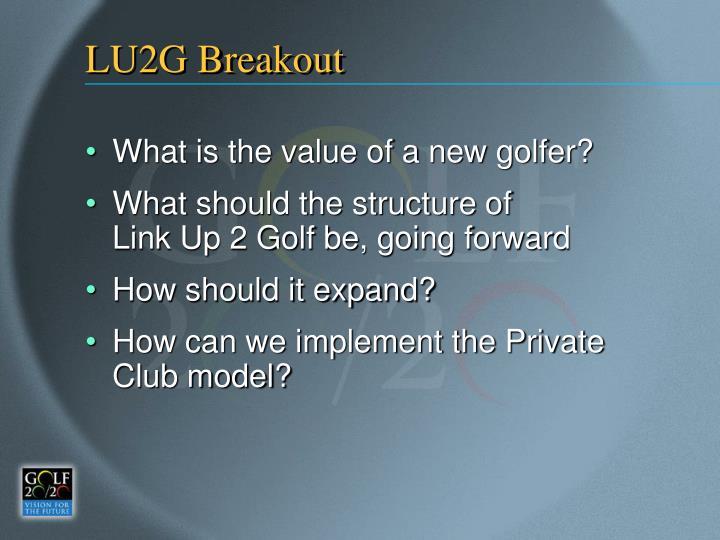 LU2G Breakout
