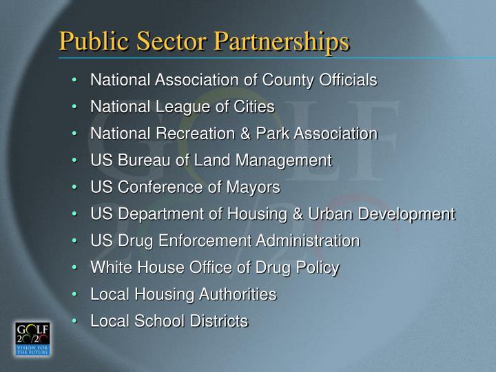 Public Sector Partnerships