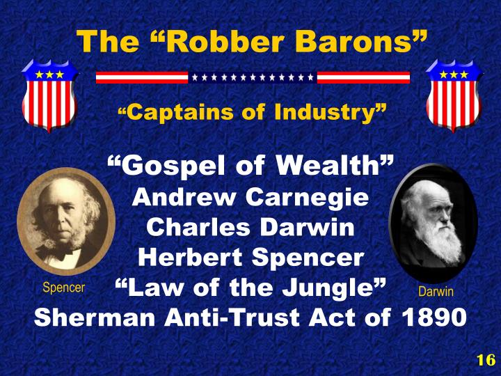 """The """"Robber Barons"""""""
