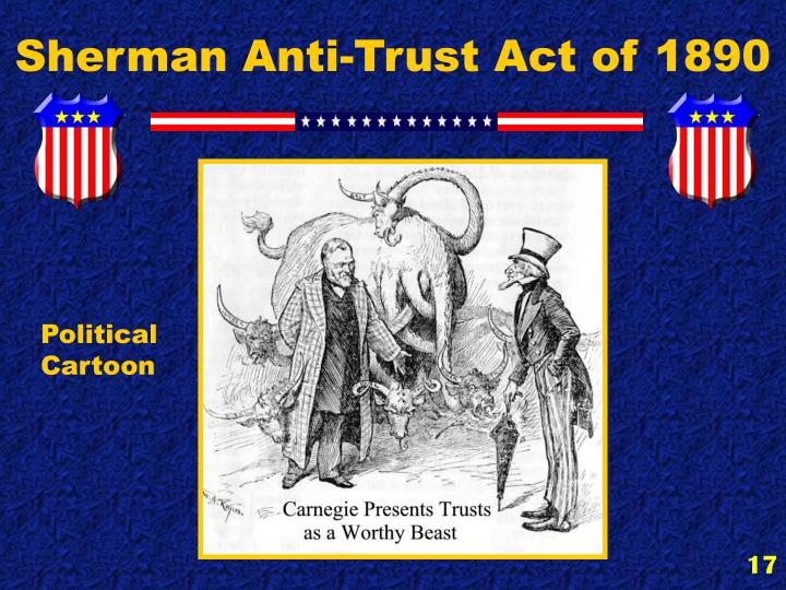 Sherman Anti-Trust Act of 1890