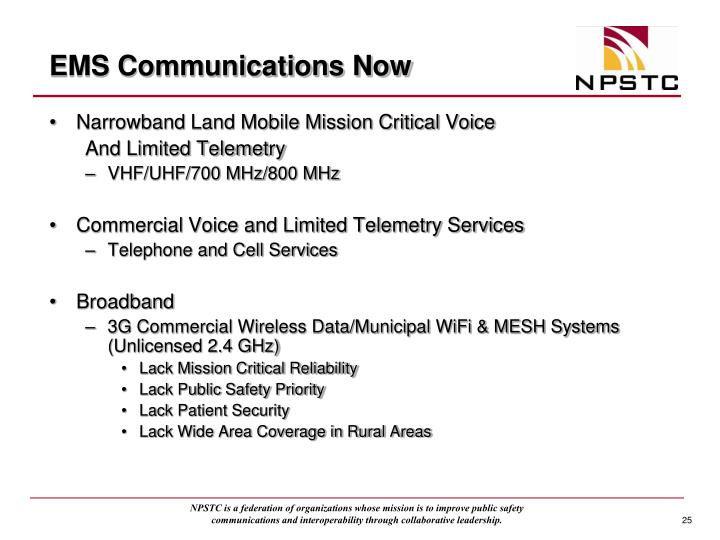 EMS Communications Now