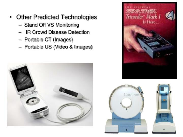 Other Predicted Technologies