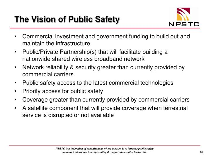 The Vision of Public Safety