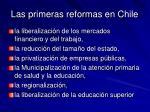 las primeras reformas en chile1