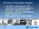 125 years of topographic mapping