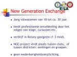new generation exchange