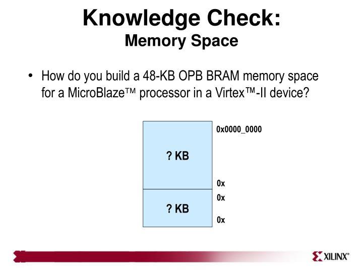 Knowledge Check: