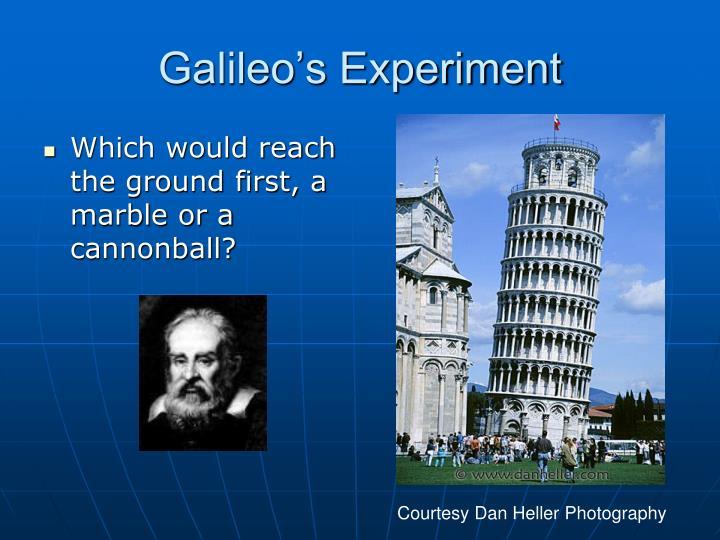 Galileo's Experiment