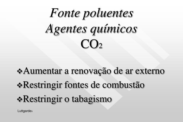 Fonte poluentes