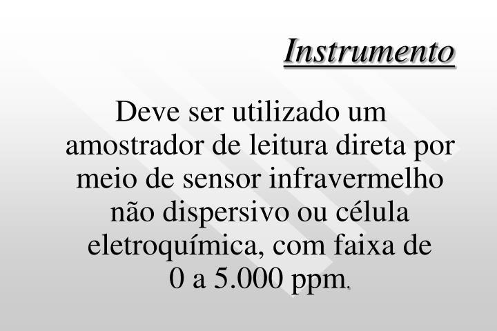 Instrumento