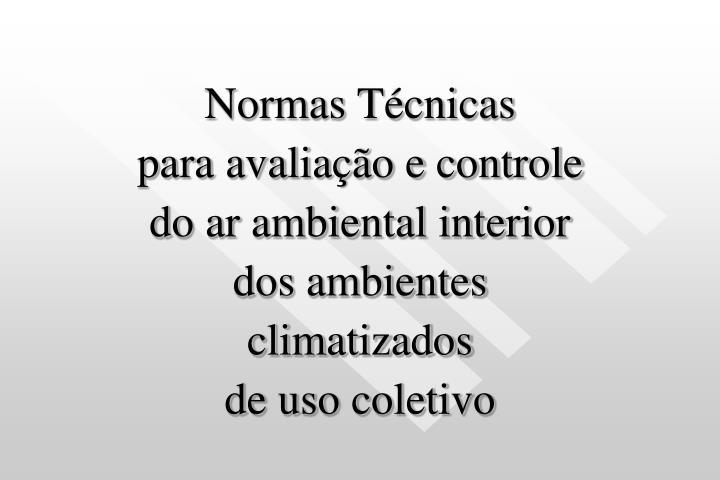 Normas Técnicas