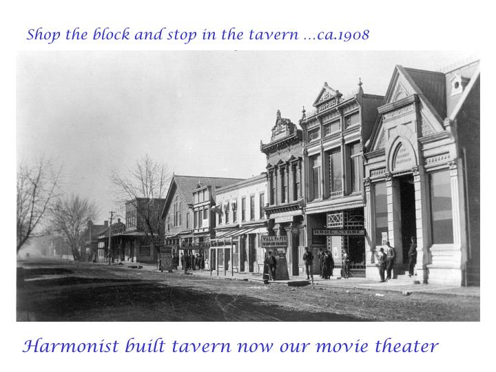 Shop the block and stop in the tavern …ca.1908