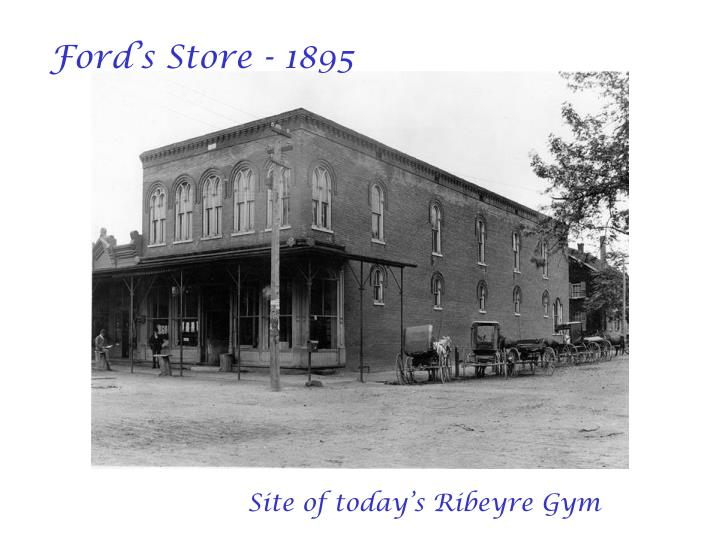 Ford's Store - 1895
