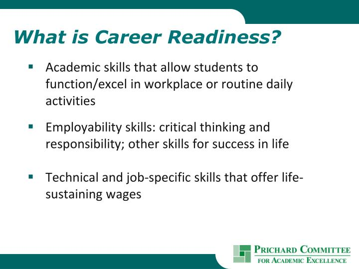 What is Career Readiness?