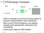 fpga design translation
