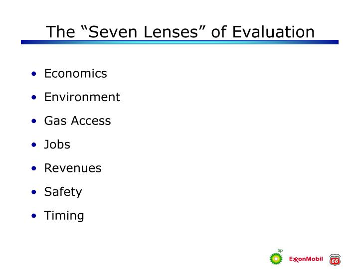 """The """"Seven Lenses"""" of Evaluation"""
