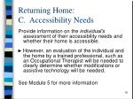 returning home c accessibility needs1