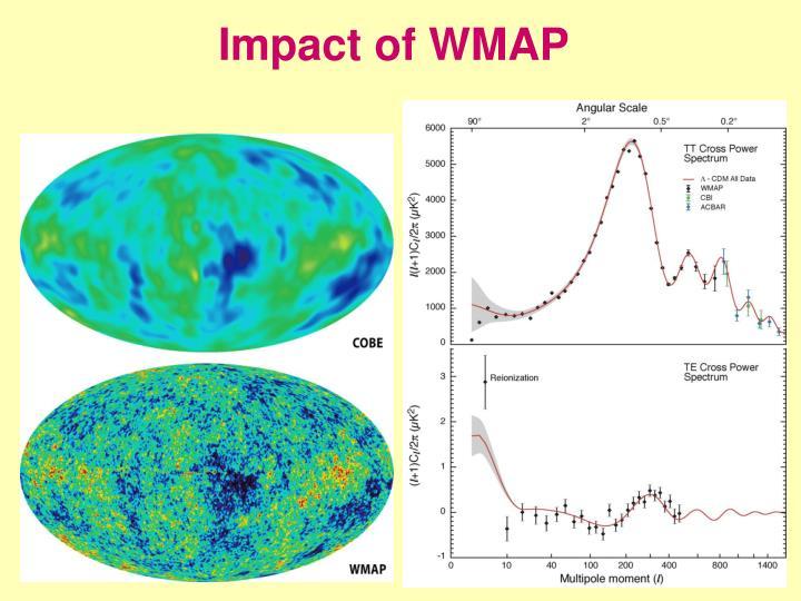 Impact of WMAP