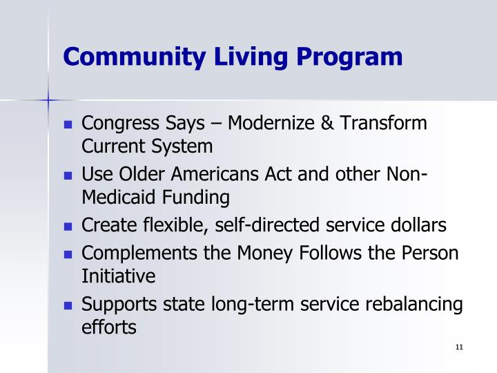 Community Living Program