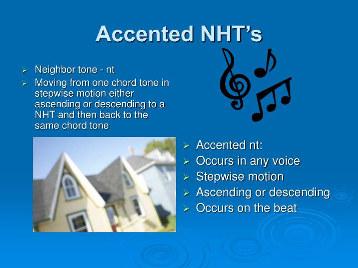 Neighbor tone - nt
