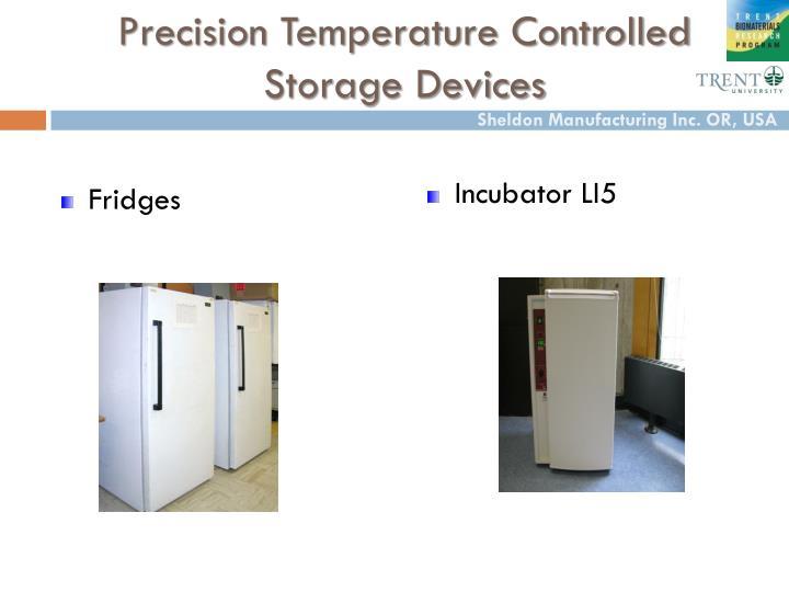 Precision Temperature Controlled Storage Devices