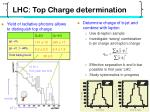 lhc top charge determination1