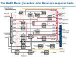 the mars model co author john marano is response basis