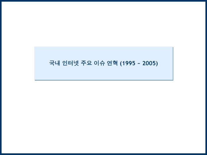 1995 2005