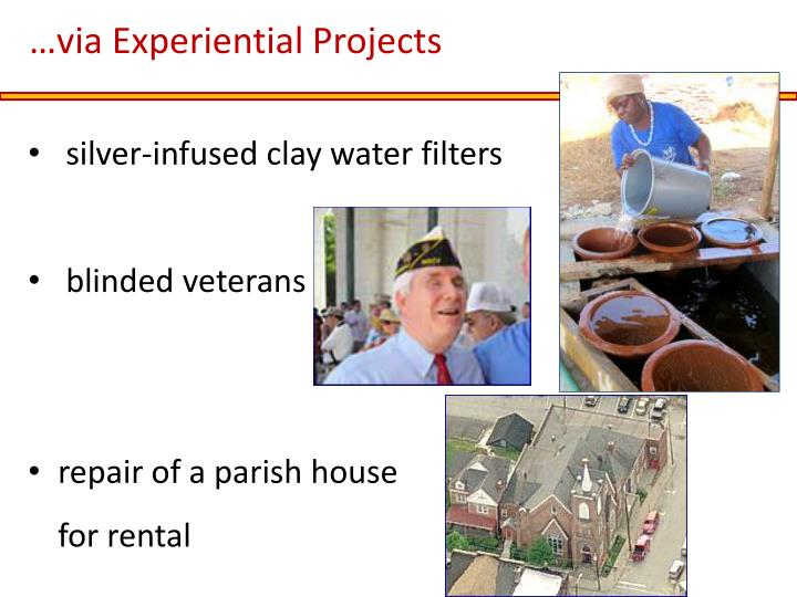 …via Experiential Projects