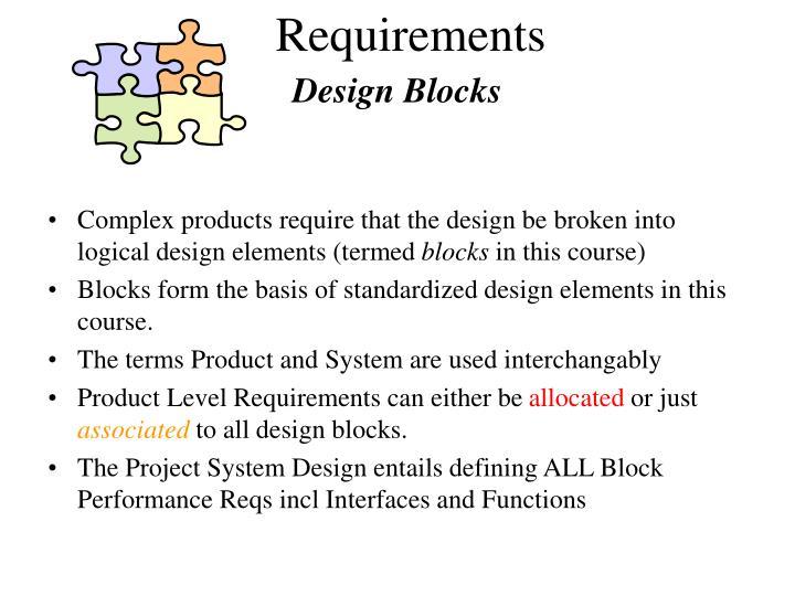 Design Blocks