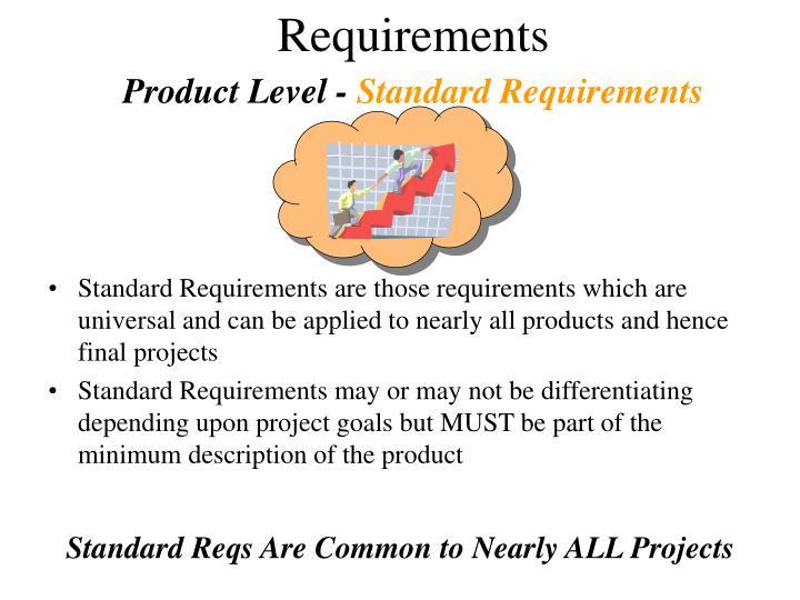 Product Level -