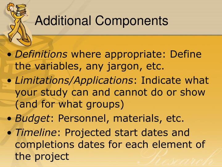 Additional Components