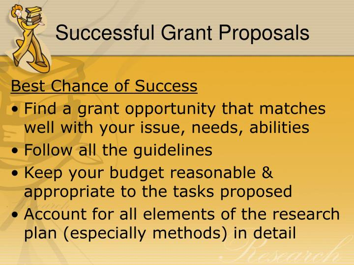 Successful Grant Proposals