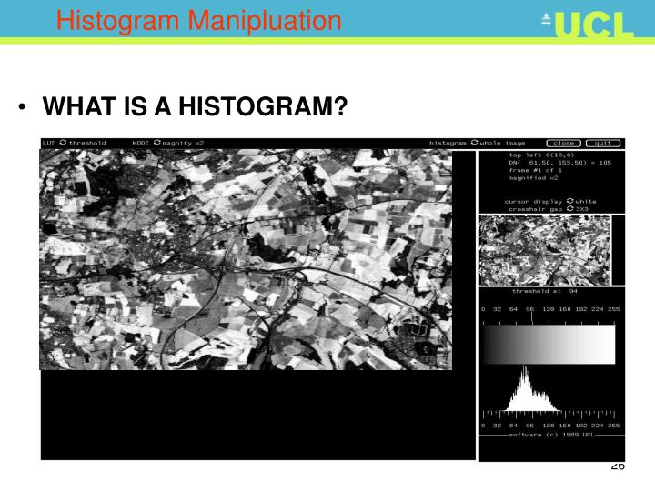 Histogram Manipluation
