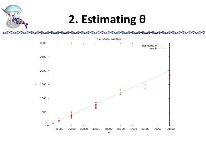 2. Estimating