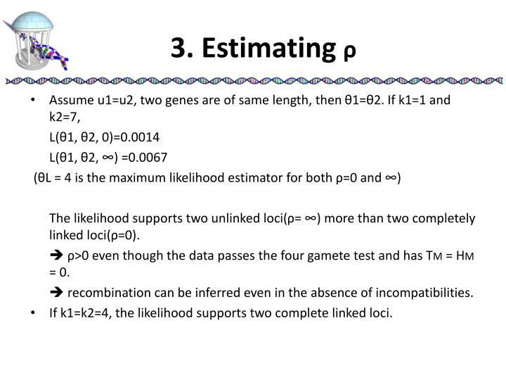 3. Estimating