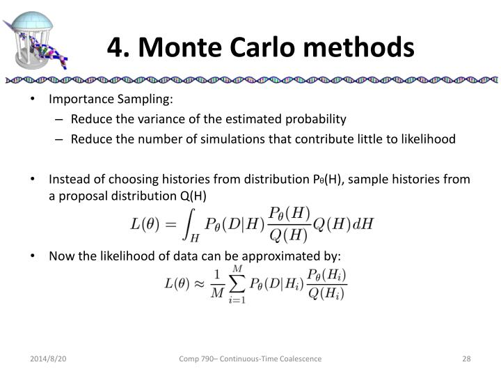 4. Monte Carlo methods