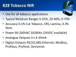 828 tobacco nir1