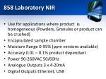 858 laboratory nir1