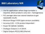868 laboratory nir1