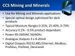 ccs mining and minerals