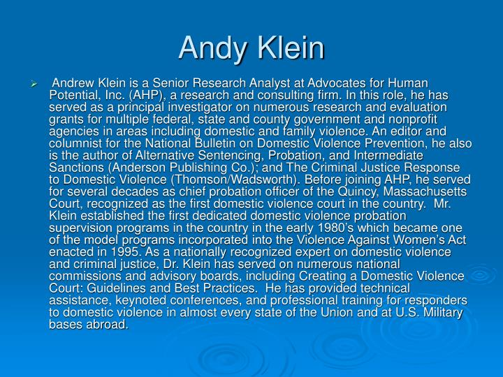 Andy Klein