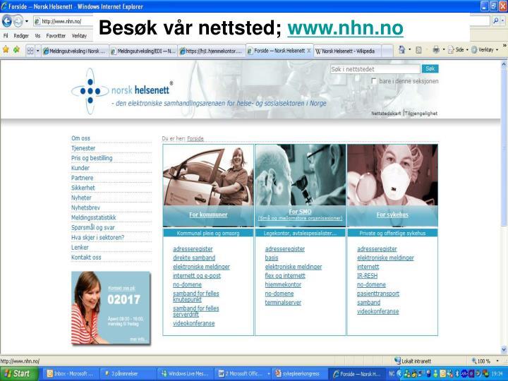 Besøk vår nettsted;