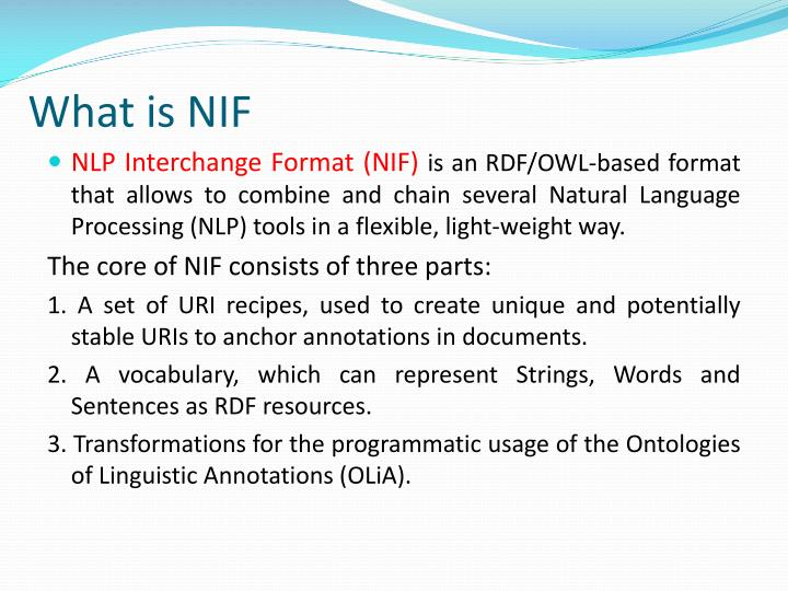 What is NIF
