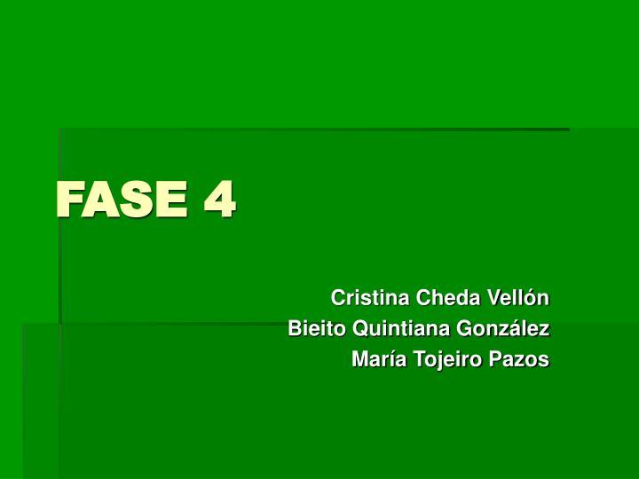 fase 4 n.